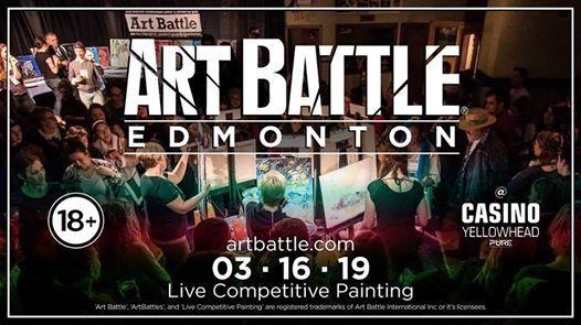 Art Battle Edmonton - March 16 2019