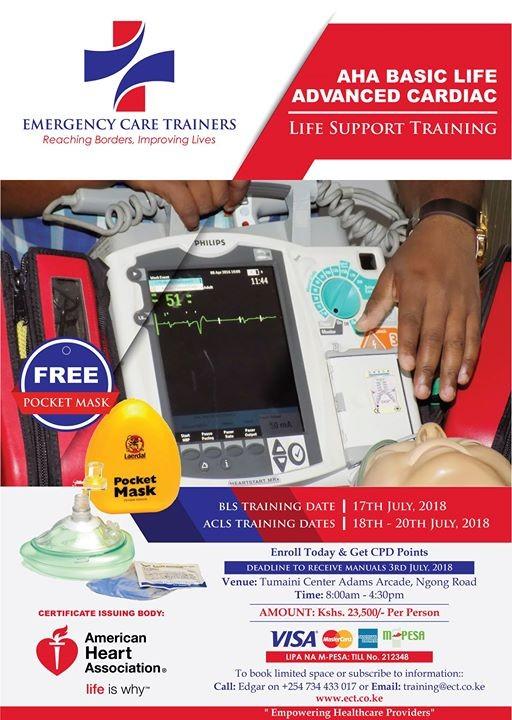 AHA Basic Life and Advanced Cardiac Life Support Training