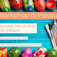 Workshop di Pasqua - Kids 3-7yo