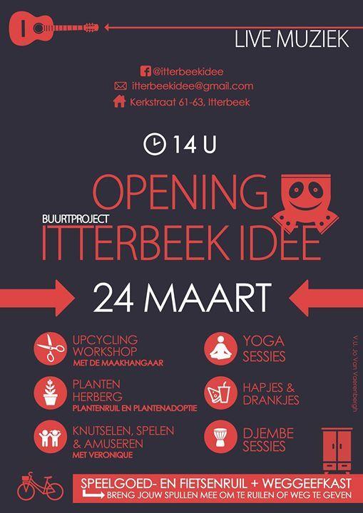 Opening Itterbeek Idee