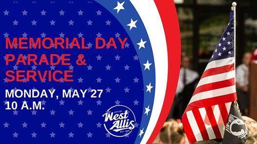 Memorial Day Parade & Service