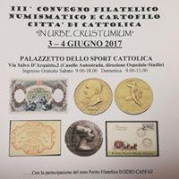 3 Convegno Filatelico Numismatico Cartofilo In Urbe Crustumium