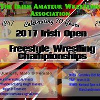 Irish Open Freestyle Wrestling Championships 2017