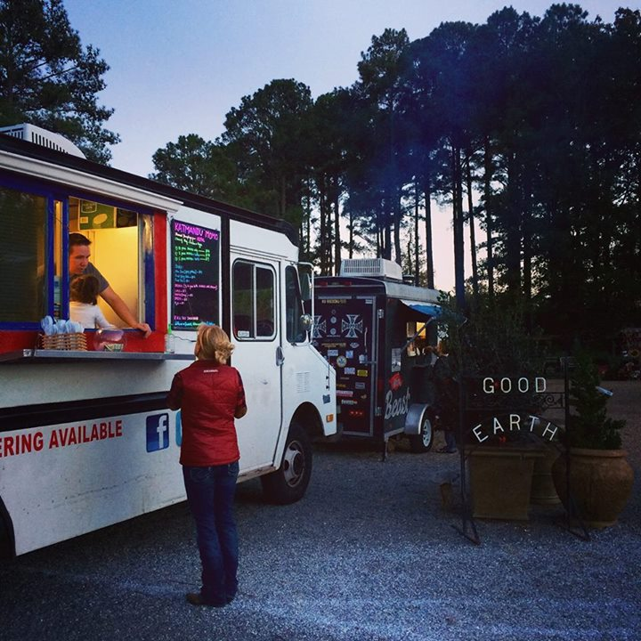 Good Earth Garden Center Food Truck