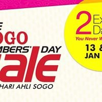 The SOGO Members Day Sale