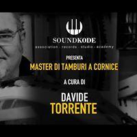 Master in Tamburi a Cornice a cura di Davide Torrente