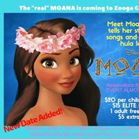 Sing &amp Dance with Moana at Zooga