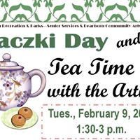 Paczki Day and Tea Time with the artists