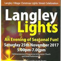 Langley Christmas Lights Switch On