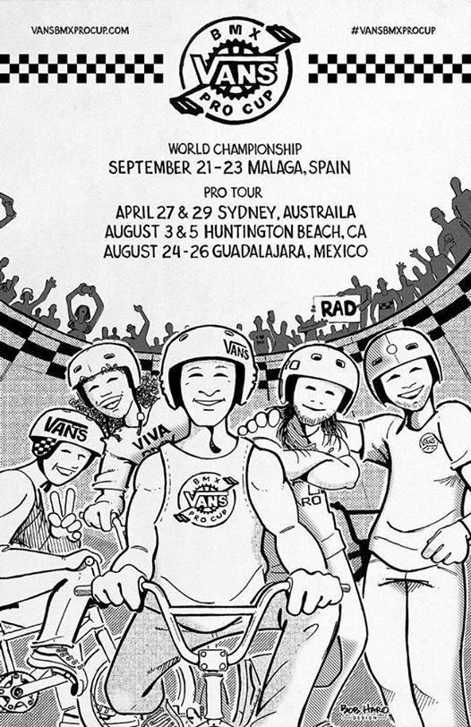 fc2a1643e6 Vans BMX Pro Cup 2018 - Final at Skatepark Málaga