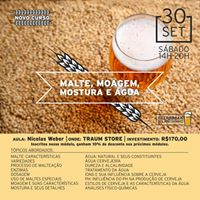 Workshop - Malte Moagem Mostura e gua