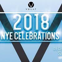 VOLAR Presents NYE 2018  31st December