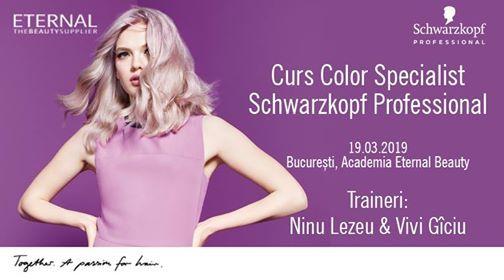 Curs Color Specialist Schwarzkopf Professional