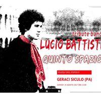 Quinto Spazio Lucio Battisti Tribute concerto Geraci Siculo (PA)