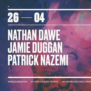 Fridays at EGG Nathan Dawe Jamie Duggan Patrick Nazemi