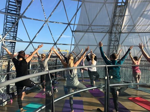 Sunday Yoga & Coffee morning in the Dome victoriasquare