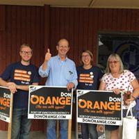 WCV Doorbell Day for Don Orange