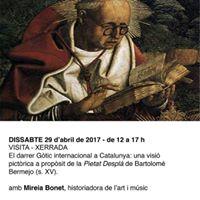 Visita Xerrada Gtic catal. La Pietat Despl de B. Bermejo