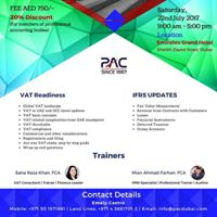 IFRS &amp VAT Sessions