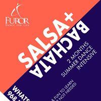 Summer Dance Intensive Salsa  Bachata (Beginners)