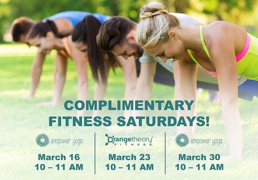 Complimentary Fitness Saturdays  Emory Point Atlanta