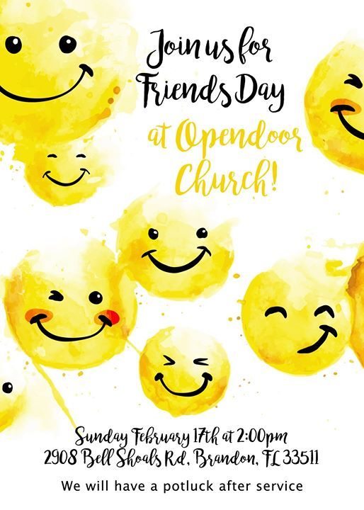 Friends Day at Opendoor Church