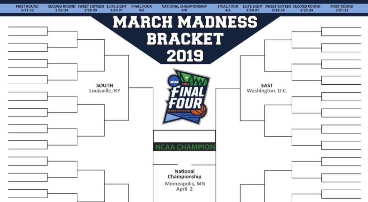 Ncaa Tournament 2019 March Madness Bracket: 2019 NCAA March Madness Bracket Challenge