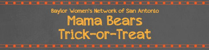 Mama Bears Trick-or-Treat