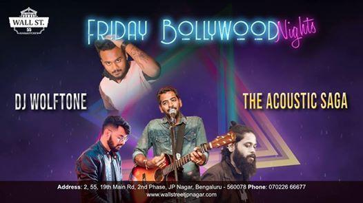 Bollywood Nights by The Acoustic Saga & DJ Wolftone