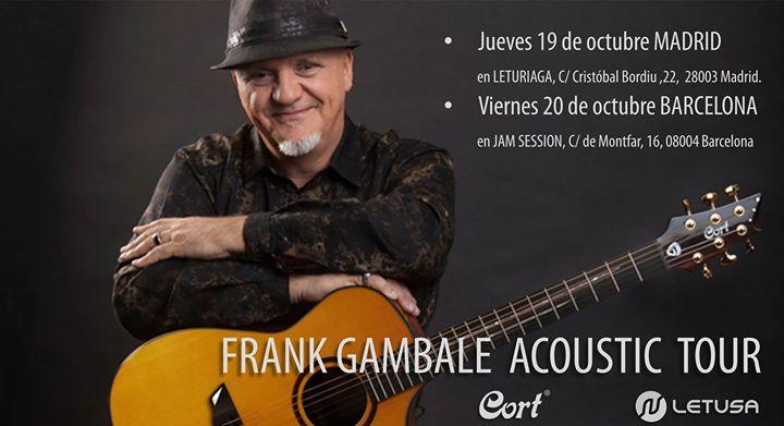 Clinic acstico de Frank Gambale en Madrid