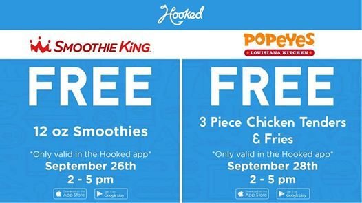 Free Smoothie & 3 Free Chicken Tenders at Smoothie King of Auburn