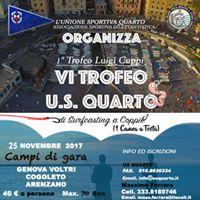 Vi Trofeo U.s.quarto - 1 Trofeo Luigi Cuppi