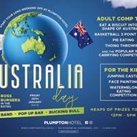 Australia Day  Plumpton Hotel