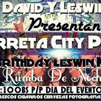 CHAMARRETA CITY PARTY7 - NOCHE ALOCADA VIP 7 HAPPY BIRTHDAY-LESWIN MORA16GRAM RUMBA DE NOCHE ESTE 12 DE FEBRERO ACTIVATE De Taylor.