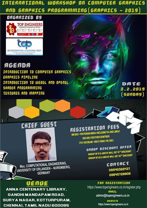 Workshop on Computer Graphics and Graphics Programming