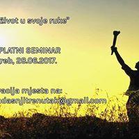 Besplatni seminar &quotUzmi ivot u svoje ruke&quot