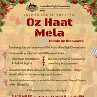 Oz Haat Mela-Picnic on the lawns (Free Entry. Open for all)