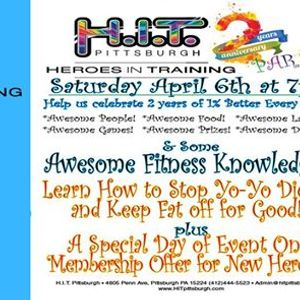 Heroes in Training Second Anniversary Party and Pot Luck Dinner