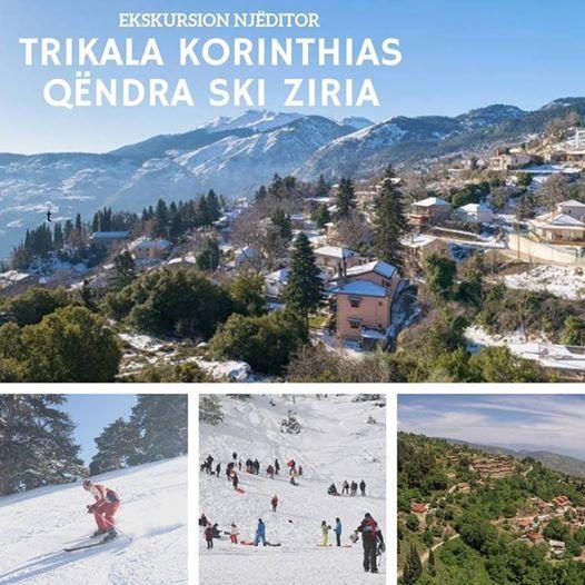 Ekskursion 24 Shkurt  Trikala Korinthias & Qndr e Skis Ziria