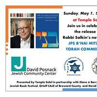 Celebrate Rabbi Salkins New Book