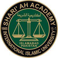 Shari'ah Academy,International Islamic University, Islamabad