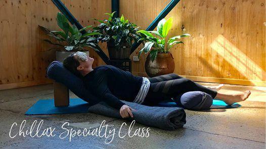 Chillax  Restorative Yoga & Meditation Specialty Class
