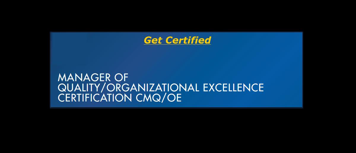 Asq Certified Manager Of Quality Exam Prep Classes At Regina Regina