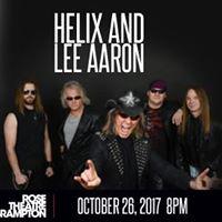 Helix and Lee Aaron
