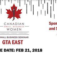 Small Business Seminar GTA East