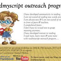 Readmyscript Outreach Program-Delhi