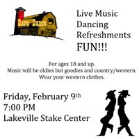 Lakeville Stake Adult Valentines Dance