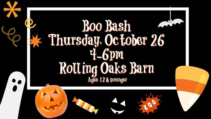 boo bash childrens halloween party on the farm