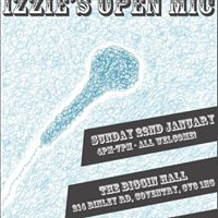 Izzies Open Mic - At The Biggin Hall