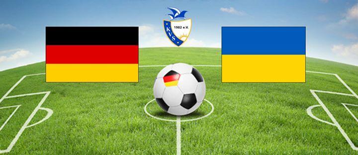 fußball ukraine deutschland